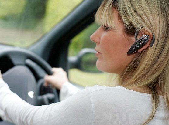 Штраф за использование телефона за рулем