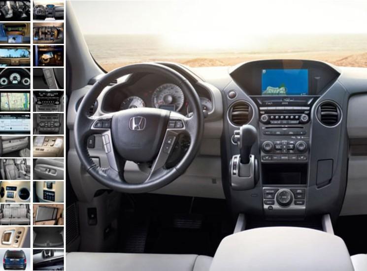 Новый Honda Pilot может кардинально поменяться